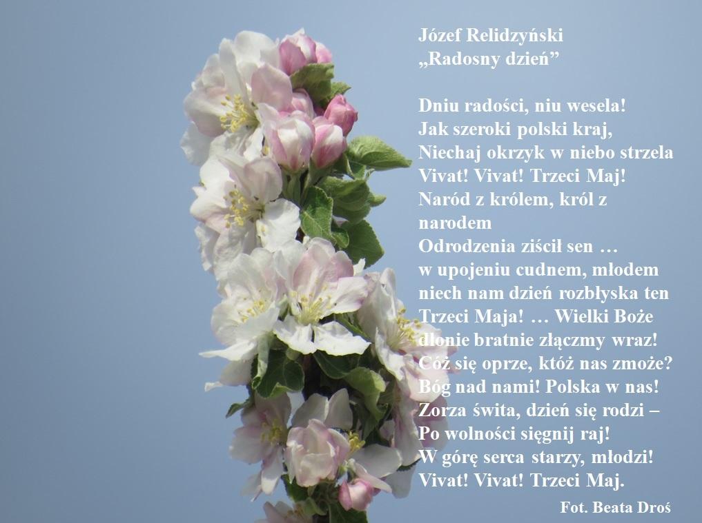 Wiersz J. Relidzyńskiego Radosny dzień Droś.jpeg