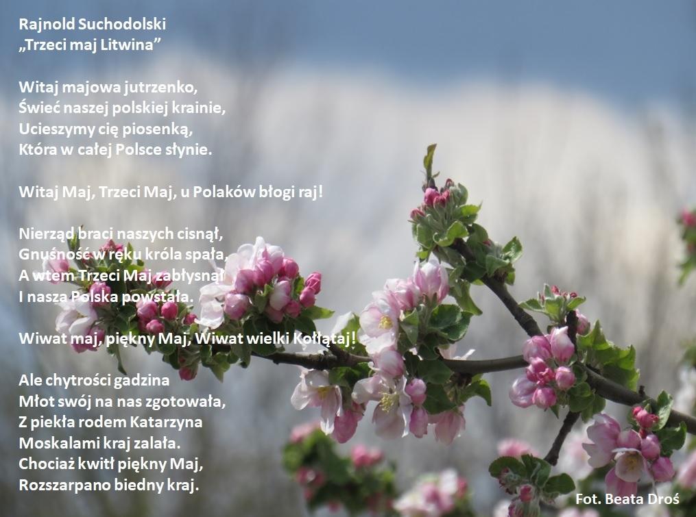 Wiersz R. Suchodolskiego Trzeci maja Litwina - Droś.jpeg