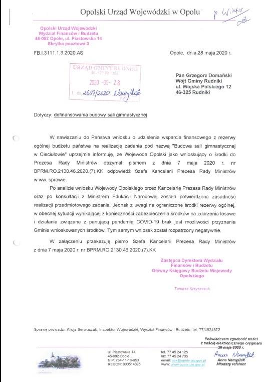 Pismo z Urzędu Wojewódzkiego..jpeg