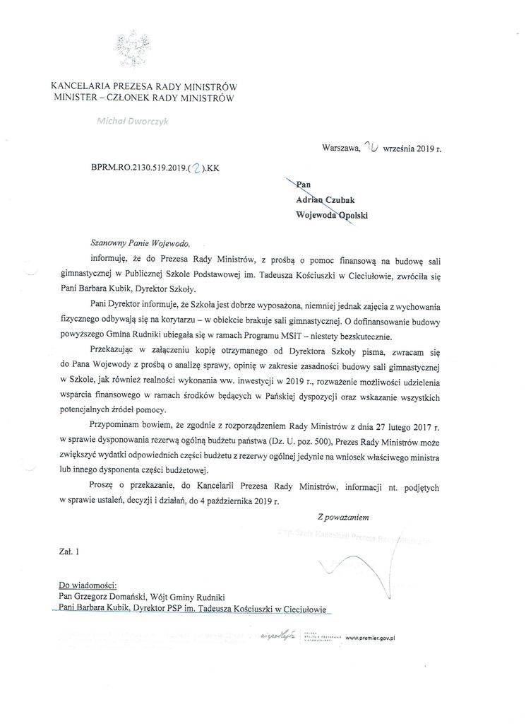 Pismo z Kancelarii Premiera.jpeg