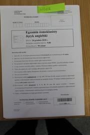 Galeria Język angielski - próbny egzamin ósmoklasisty
