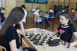 Galeria III Międzyszkolny Turniej Szachowy w Praszce w dniu 19 lutego 2019 roku