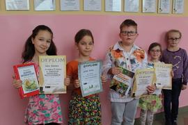Galeria Gminny Konkurs Recytatorski dla klas I - III w Rudnikach