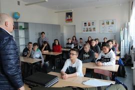 """Galeria Spotkanie z panem Waldemarem Majtyką z Koła Łowieckiego :""""Dzik nr 10"""" z Wielunia"""