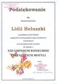 Galeria XIII Konkurs Czytających Motyli w Jaworznie w dniu 15 maja 2019 roku