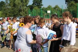 Galeria Wyróżnieni uczniowie w roku  szkolnym 2018/2019