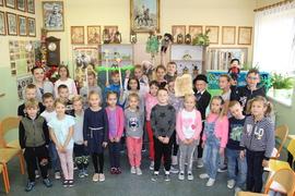 Galeria Inscenizacja kukiełkowa uczniów klasy V
