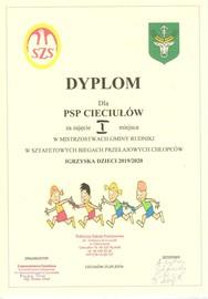Galeria Mistrzostwa Gminy Rudniki w Sztafetowych Biegach Przełajowych w Cieciułowie