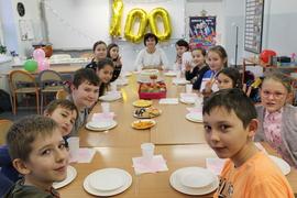 Galeria 100 lekcja w klasie piątej i szóstej