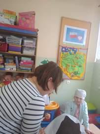 Galeria Owocowa zapiekanka z kruszonką w przedszkolu