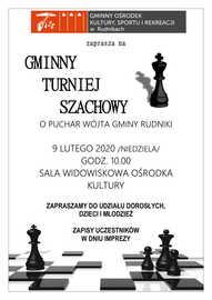 Galeria Gminny Turniej Szachowy w Rudnikach - 10.02.2020