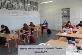 Galeria XXII Konkurs Wiedzy o Powiecie Oleskim - 25.02.2020 r.