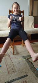 Galeria Zdalne wychowanie fizyczne w piątej klasie