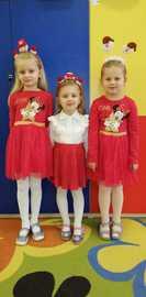 Galeria Św. Mikołaj z wizytą w grupie najmłodszej w przedszkolu 2020