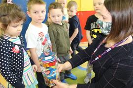 Galeria WOŚP w małym przedszkolu 2021