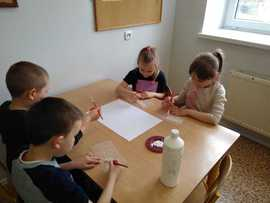 Galeria Flaga Gminy Rudniki - zajęcia w przedszkolu