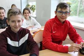 Galeria Klasa VI po powrocie do szkoły 18.05.2021 r.