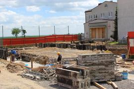 Galeria Ławy fundamentowe - przygotowania (26.05.2021 r.)