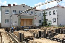 Galeria Zalewanie fundamentów betonem - 28.05.2021 r.