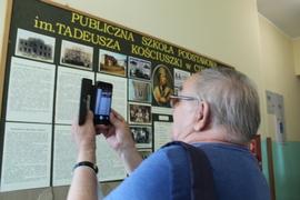 Galeria Wizyta Tadeusza  Jędrasika