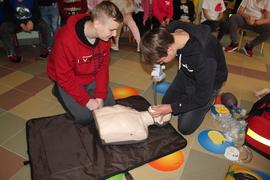 Galeria Szkolenie na temat udzielania pierwszej pomocy