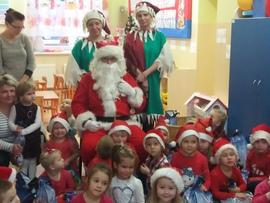 Galeria Maluchy a Św. Mikołaj