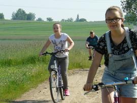 Galeria Rajd rowerowy klasy VI