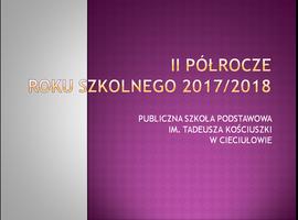 Galeria II semestr roku szkolnego 2017/2018