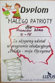 Galeria Lekcja patriotyzmu