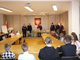 """Galeria """"Młodzież zapobiega pożarom"""" -etap gminny"""