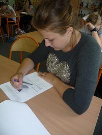 Galeria Próbny egzamin z matematyki i z języka angielskiego