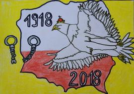 Galeria Polsko - Tobie 100 lat - konkurs plastyczny