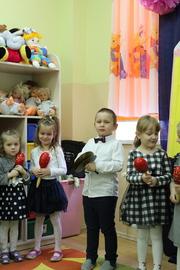 Galeria Pasowanie na Przedszkolaka w dniu 28 listopada 2018 roku
