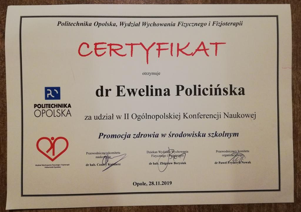 Certyfikat Ewelina Policińska.jpeg