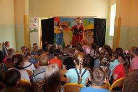 """Galeria """"Szelmostwa Lisa Witalisa"""" - teatrzyk (30.05.2019 r.)"""