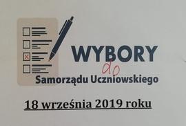 Galeria Wybory do Samorządu Szkolnego 2019