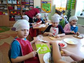 Galeria Pizza w przedszkolu