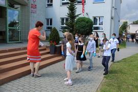 Galeria Rozdanie świadectw uczniom klas 0-7