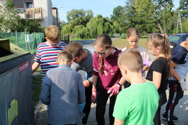 Galeria Uczniowie klasy IV dbają o naturalne środowisko