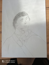 """Galeria Szkolny Konkurs Plastyczny """"Portrety Kościuszki""""  10.05.2021 r."""