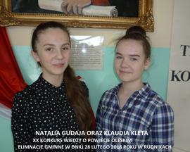 Galeria Konkurs o Powiecie Oleskim w Rudnikach