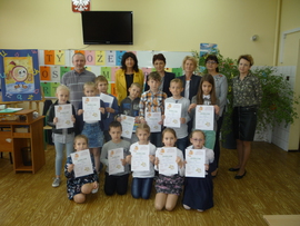 Galeria Gminny Konkurs Ortograficzny dla uczniów klas I - III