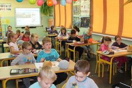 """Galeria :Słodziaki"""" w klasie I i II w dniu 29 listopada 2018 r."""